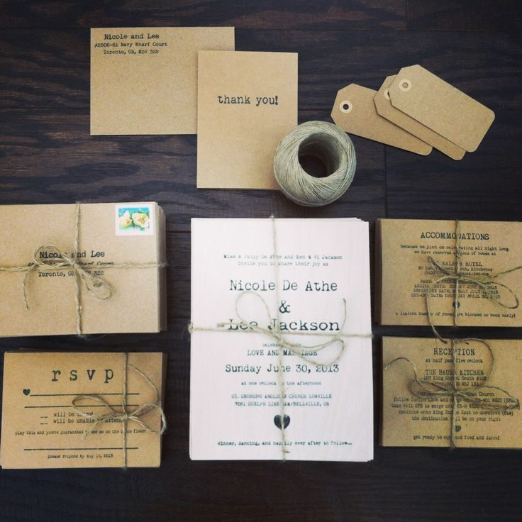 Lovely Home Made Wedding Invitations Images - Invitation Card Ideas ...