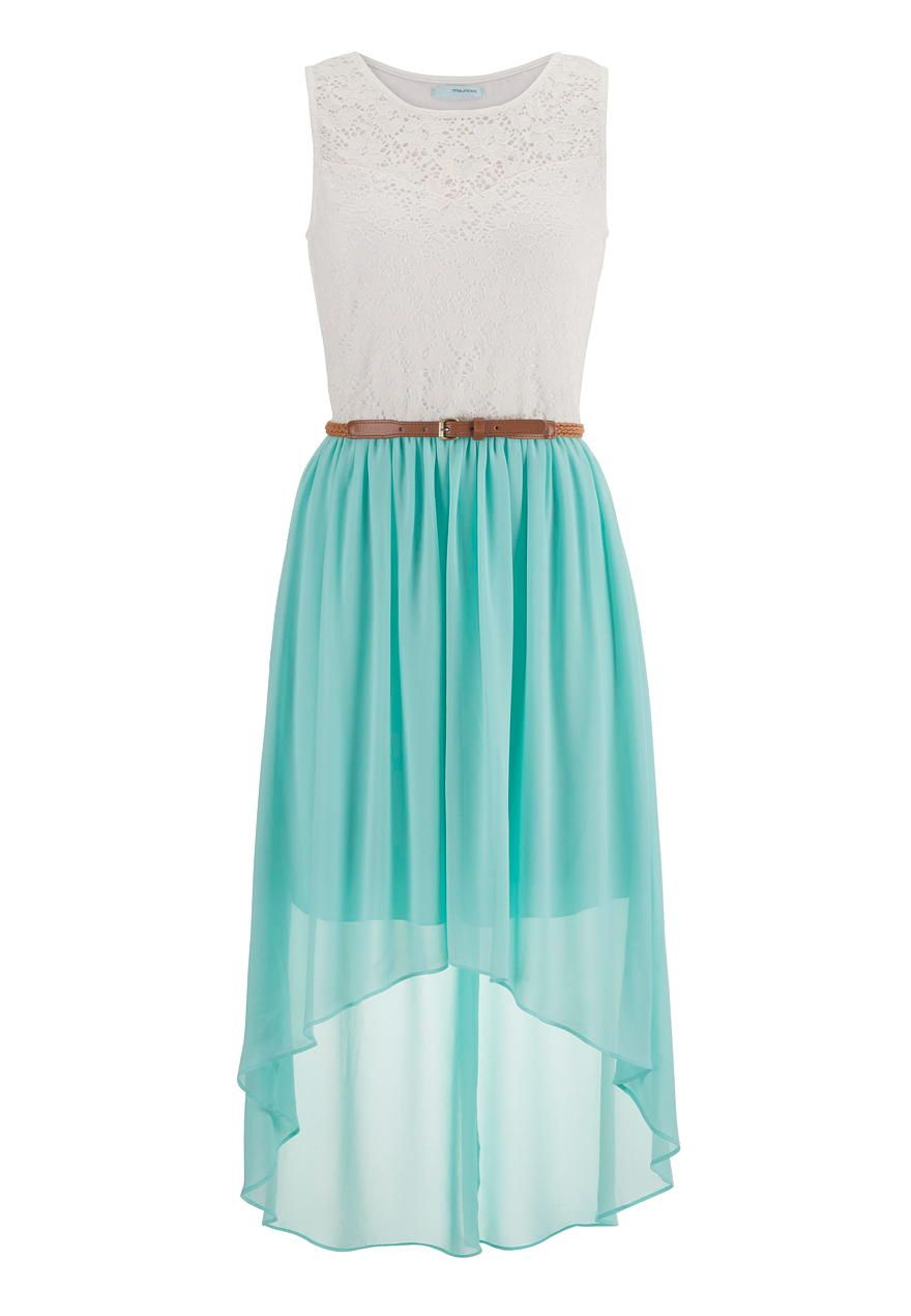 belted lace top high low dress - maurices.com … | Pinteres…