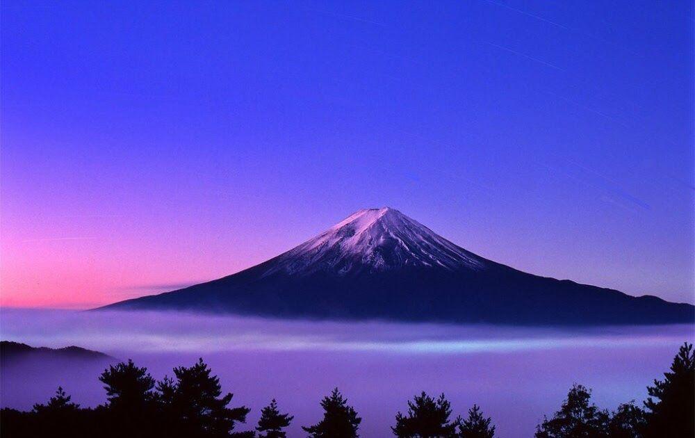 Fantastis 30 Gambar Pemandangan Gunung Fuji Pemandangan Indah Dari Gunung Fuji Japan Dicetak Di Atas Download Pesona Sakur Di 2020 Pemandangan Gunung Fuji Gambar