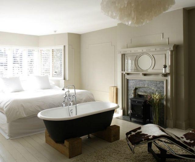 moderne badewanne design-ideen. ferienwohnung hiirhüs, Schlafzimmer
