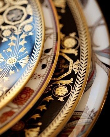 Layering Patterns | A Place at the Table | Castles | Pinterest ...