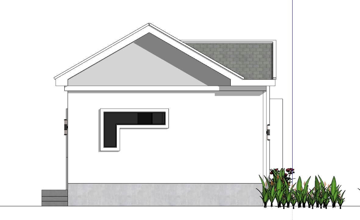 Small House Plans 6×6 With e Bedrooms Gable Roof Engineering Discoveries