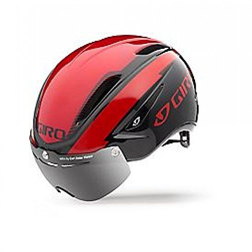 Giro Air Attack Shield Bright Red Black Aero Bike Helmet Size Small Read More Reviews Of The Product By Visiting The Link Cycling Helmet Bike Helmet Helmet