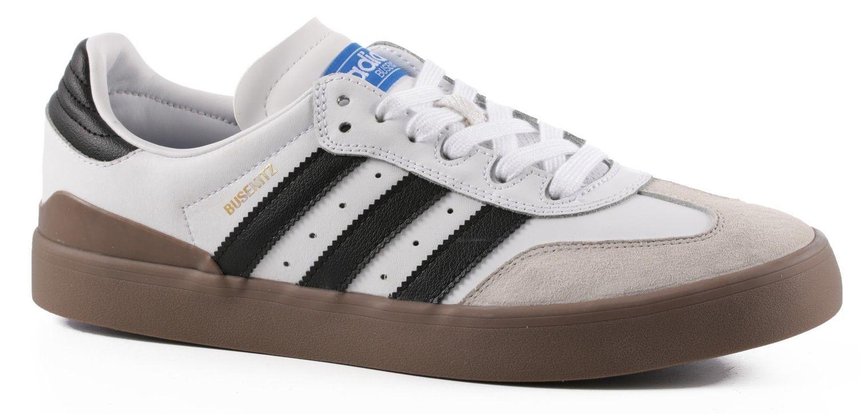 official photos 0c532 5cba2 Adidas Busenitz Vulc Samba Shoes - WhiteCore BlackBluebird