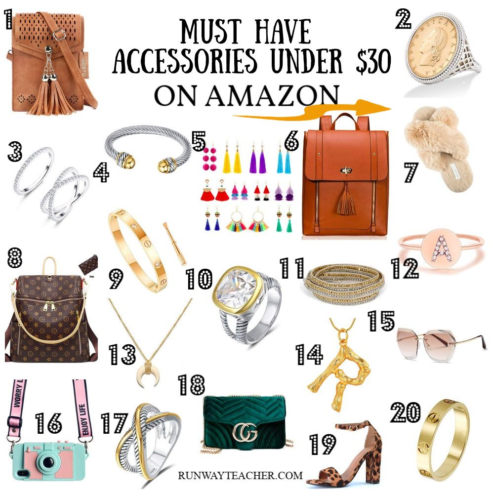 Must Have Accessories Under 30 On Amazon Amazon Jewelry Best Amazon Buys Amazon Beauty Products