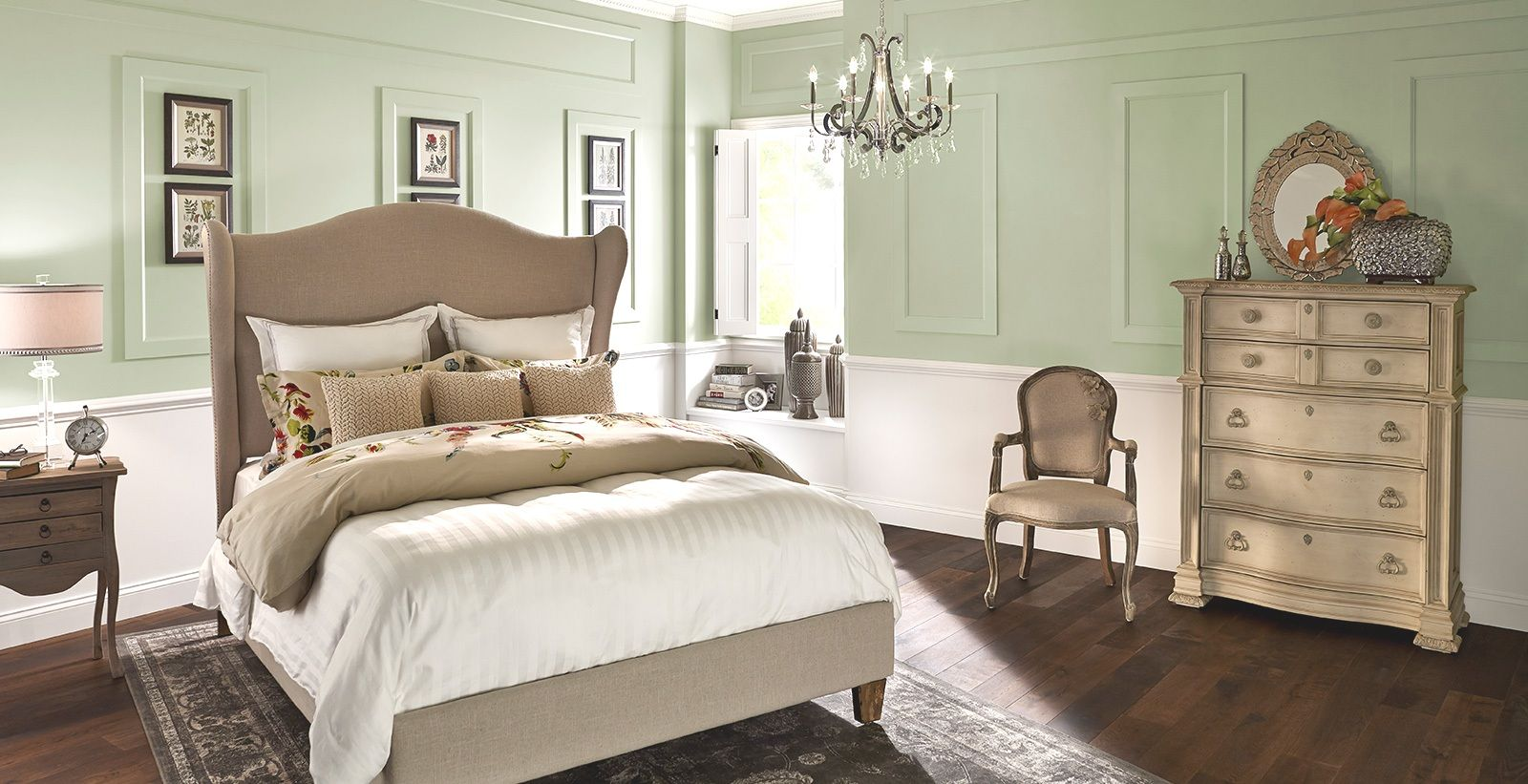 30 Awesome Blissful Bedroom Color Scheme Ideas | Soothing ...