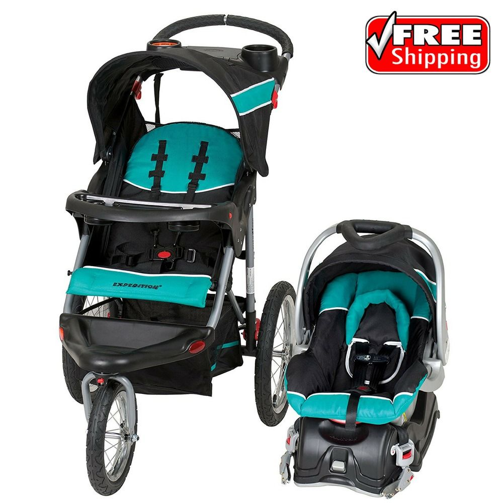 Stroller Travel System Ebay Details About Baby Trend Expedition Jogger Stroller Travel