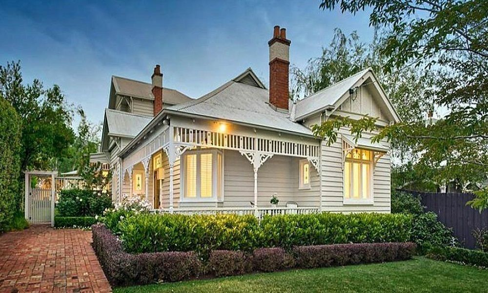 Australian period homes edwardian - Edwardian exterior house colours ...