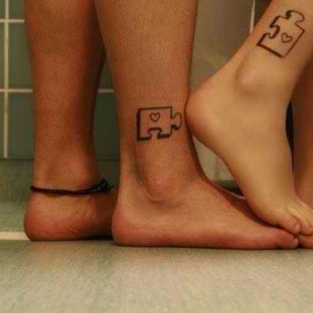His and her tats so cuuute