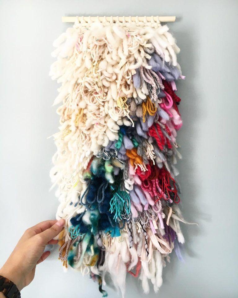 DIY Weaved Tapestry Tutorials - Hey Lai
