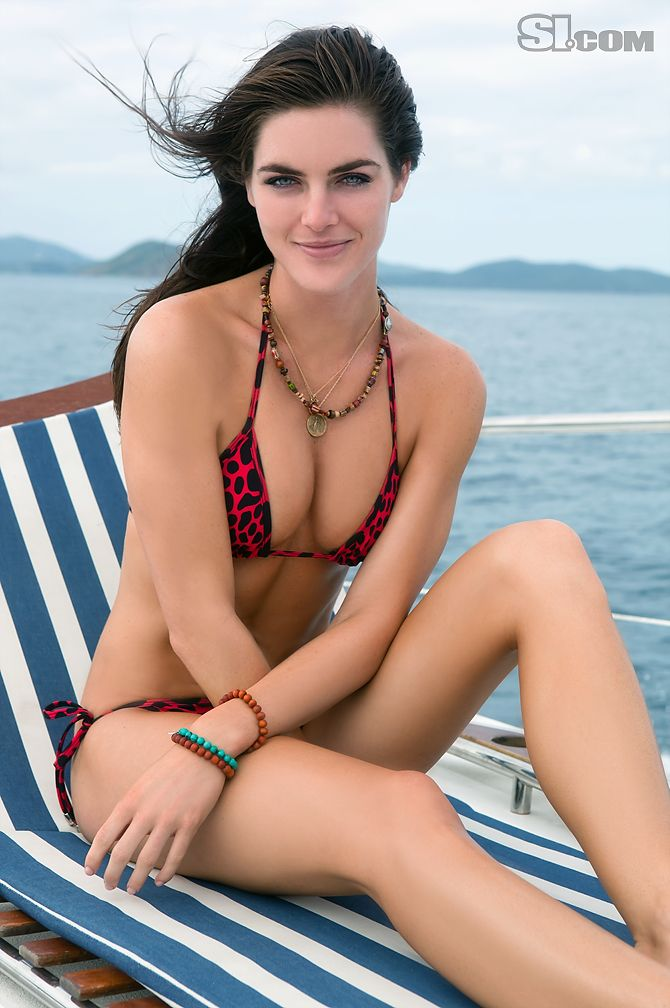 Hilary Rhoda - Sports Illustrated Swimsuit 2011 Location: Peter Island, British Virgin Islands, Peter Island Resort Swimsuit: Swimsuit by LUPE POSSE Photographed by: Warwick Saint
