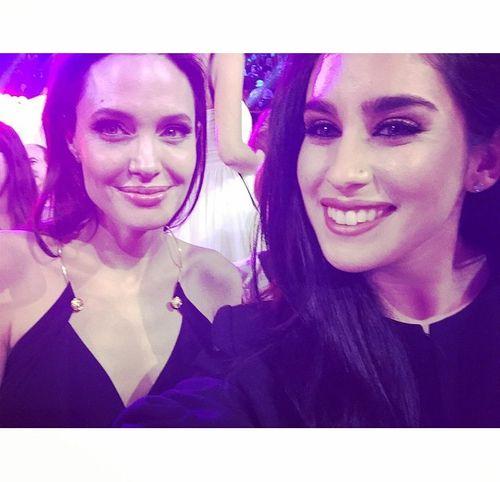 Lauren and Angelina Jolie!
