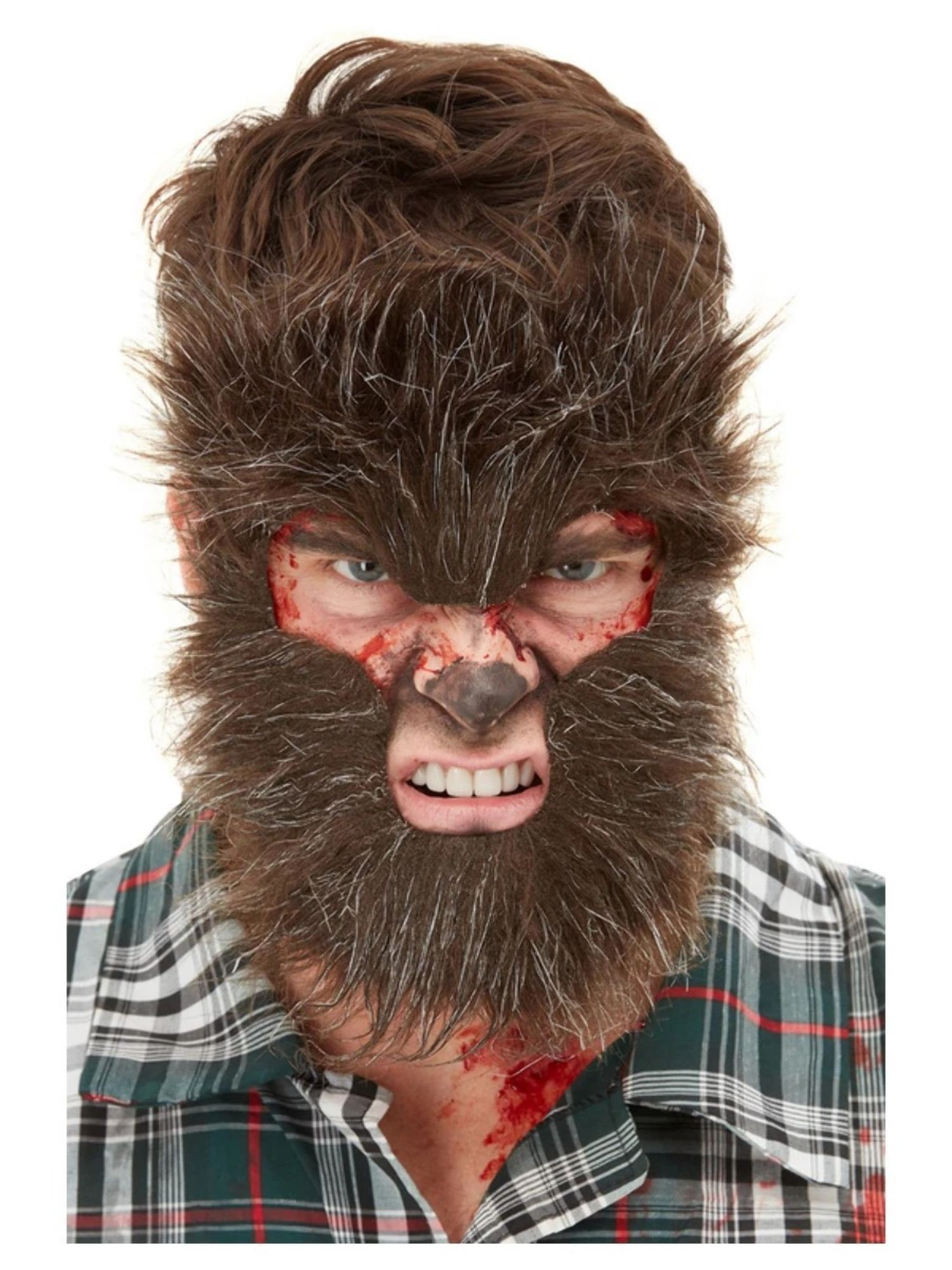 Werewolf Facial Hair Brown