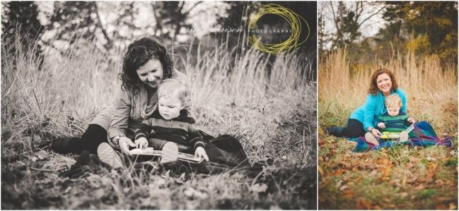 Knoxville Fall Family Photographer