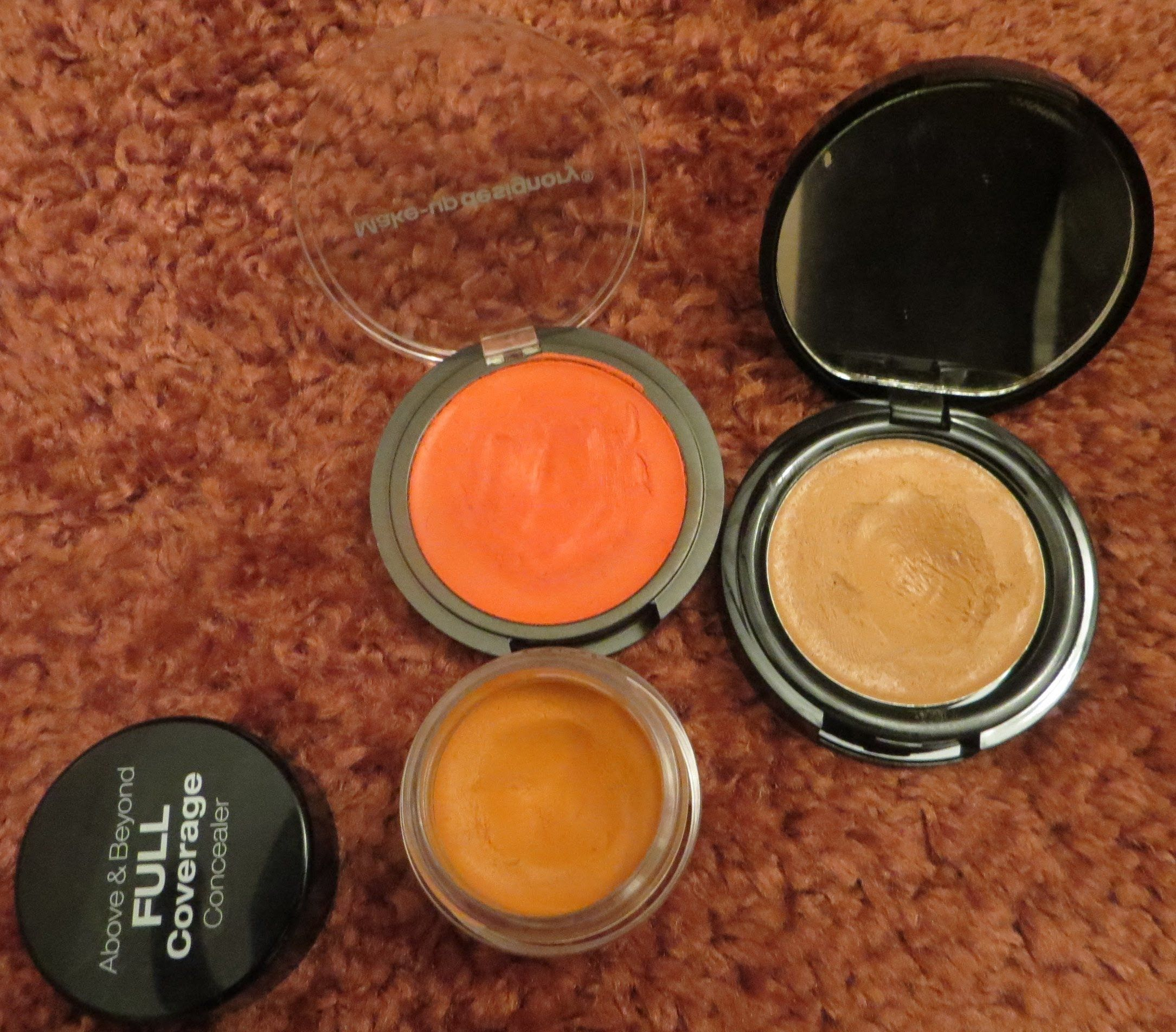Nyx Orange Concealer Color Corrector Demo Review You
