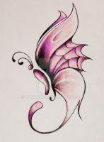 butterfly design by katiaroza