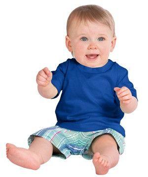 Precious Cargo Infant Short Sleeve Tee. CAR01 Royal