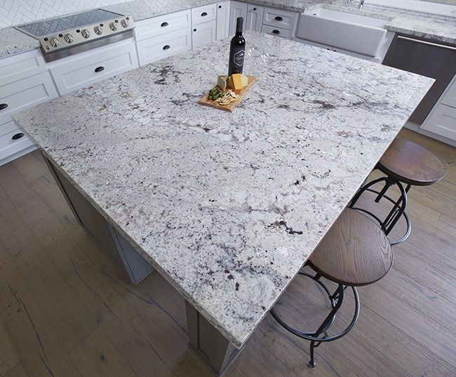 White Springs Natural Stone Granite Slabs Arizona Tile White Granite Countertops Shabby Chic Kitchen White Springs Granite