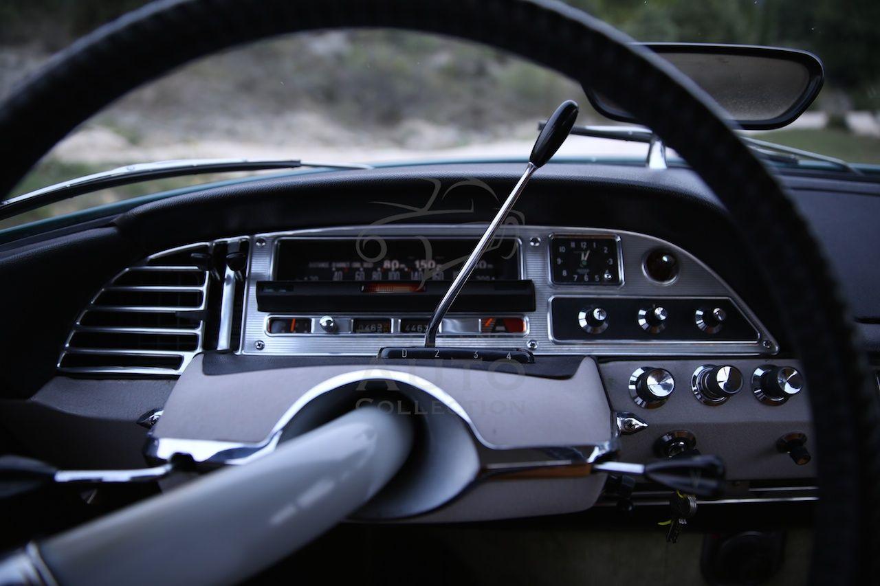 Citroen Ds21 Pallas Vert Hedera 1966 Carte Grise Voiture Boite De Vitesse