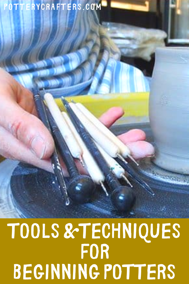 As I go through my pottery journey, I find the tools you can choose from seems endless. That's another fun part of playing with clay.  I will be happy to share my new found fun pottery tool suggestions and techniques with you. #pottery #potterytools #ceramics #clay