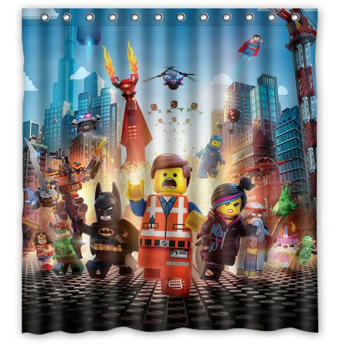 Find More Shower Curtains Information About Lego Marvel Super