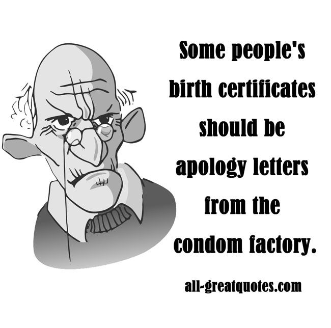 Some peopleu0027s birth certificates should be apology letters from - apology letters to customer