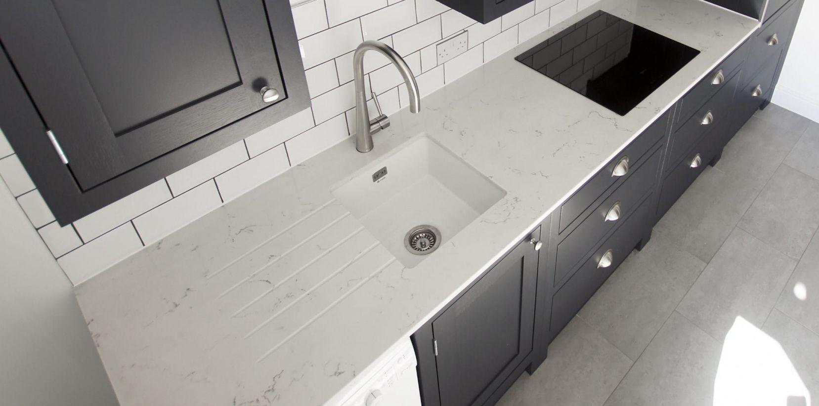 55+ Carrera Quartz Countertops   Kitchen Cabinets Update Ideas On A Budget  Check More At