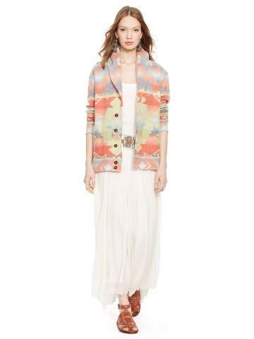 Polo Ralph Lauren Jacquard-Knit Shawl Cardigan - Polo Ralph Lauren Shop All - Ralph Lauren UK