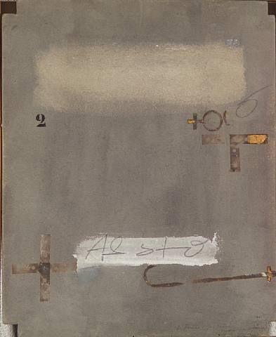 Antoni Tàpies, Signs, 1977