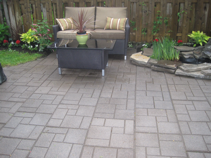 Envirotile™ is the New Black for Home Décor Patio
