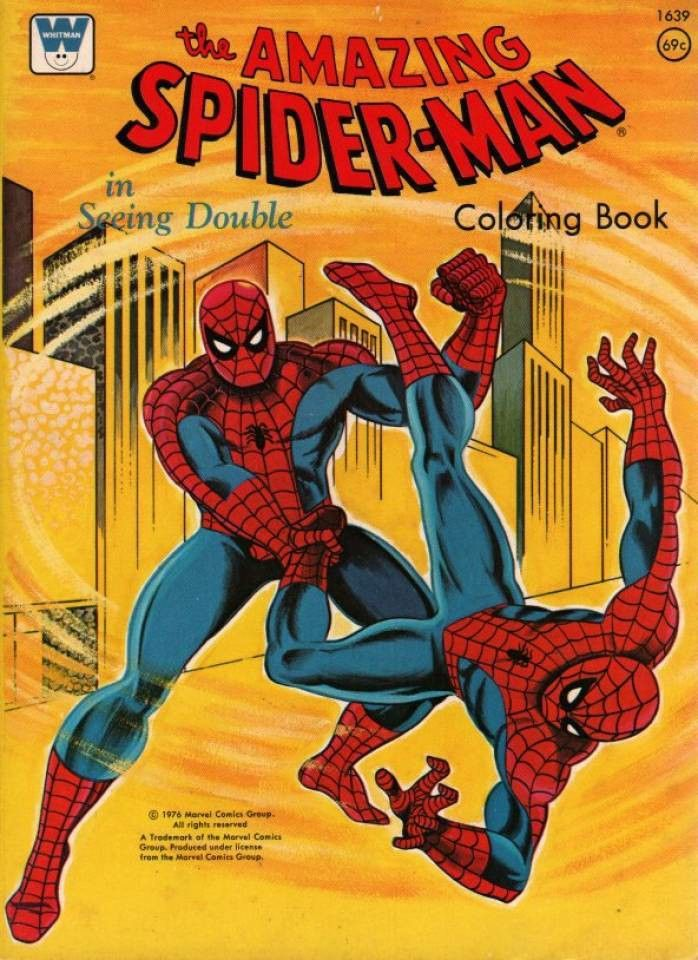 I Remember Getting This Coloring Book In 2020 Coloring Books Spiderman Coloring Marvel Comics Superheroes