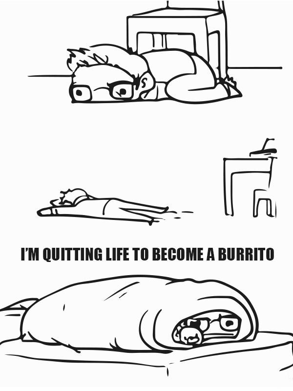 I'm quitting life to become a burrito | Who I Am | Daily