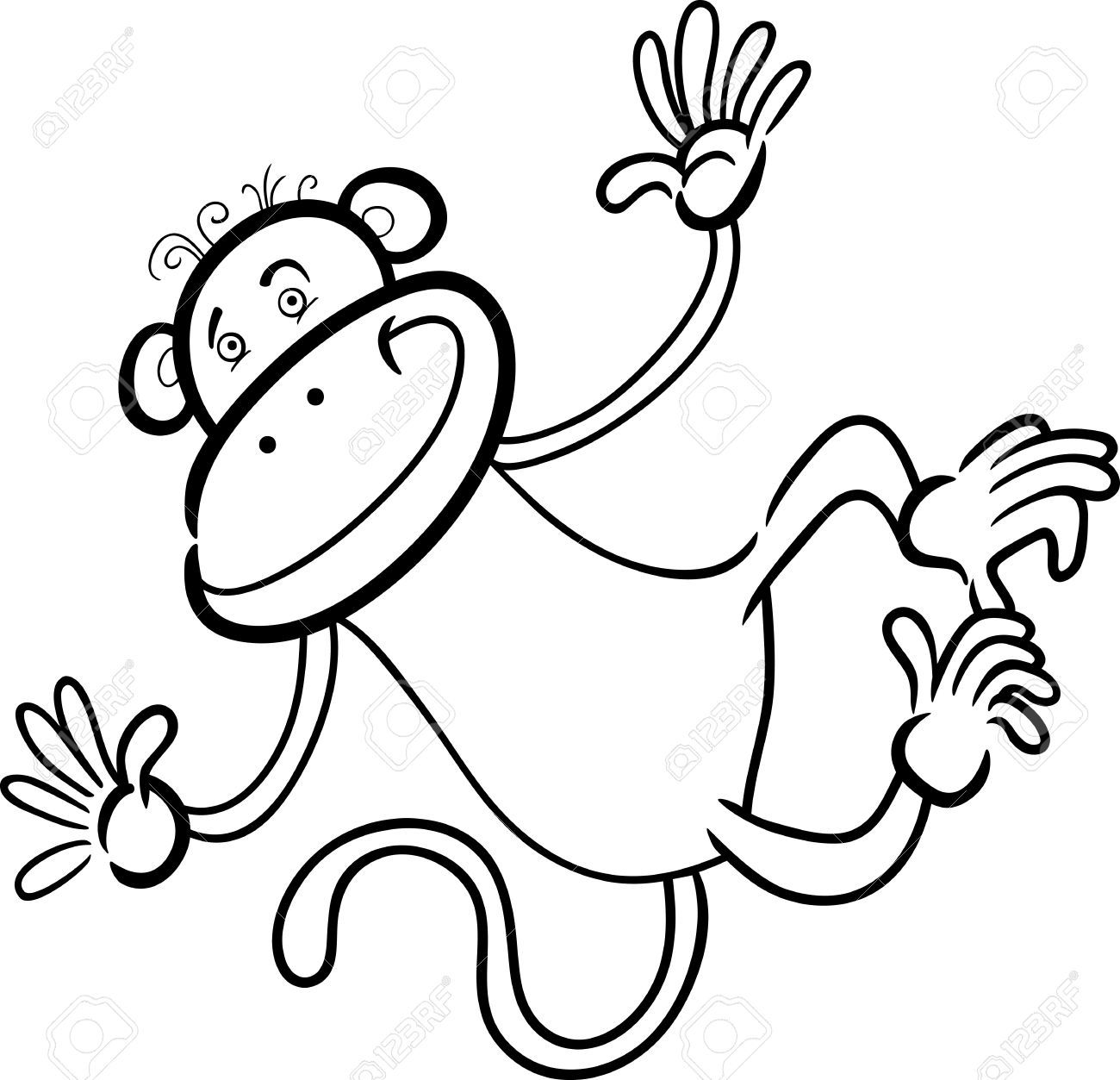 baby monkey cartoon drawings google search baby art