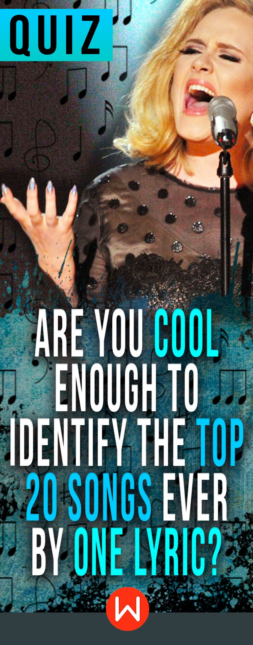 Quiz Are You Cool Enough To Identify The Top 20 Songs