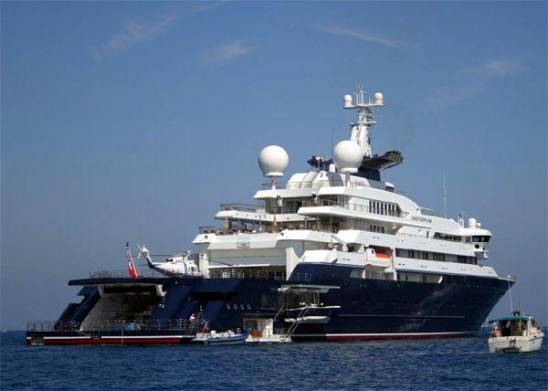 Carlos Slim Helu Yacht Paul Allen To Give Away Half Of His Fortune