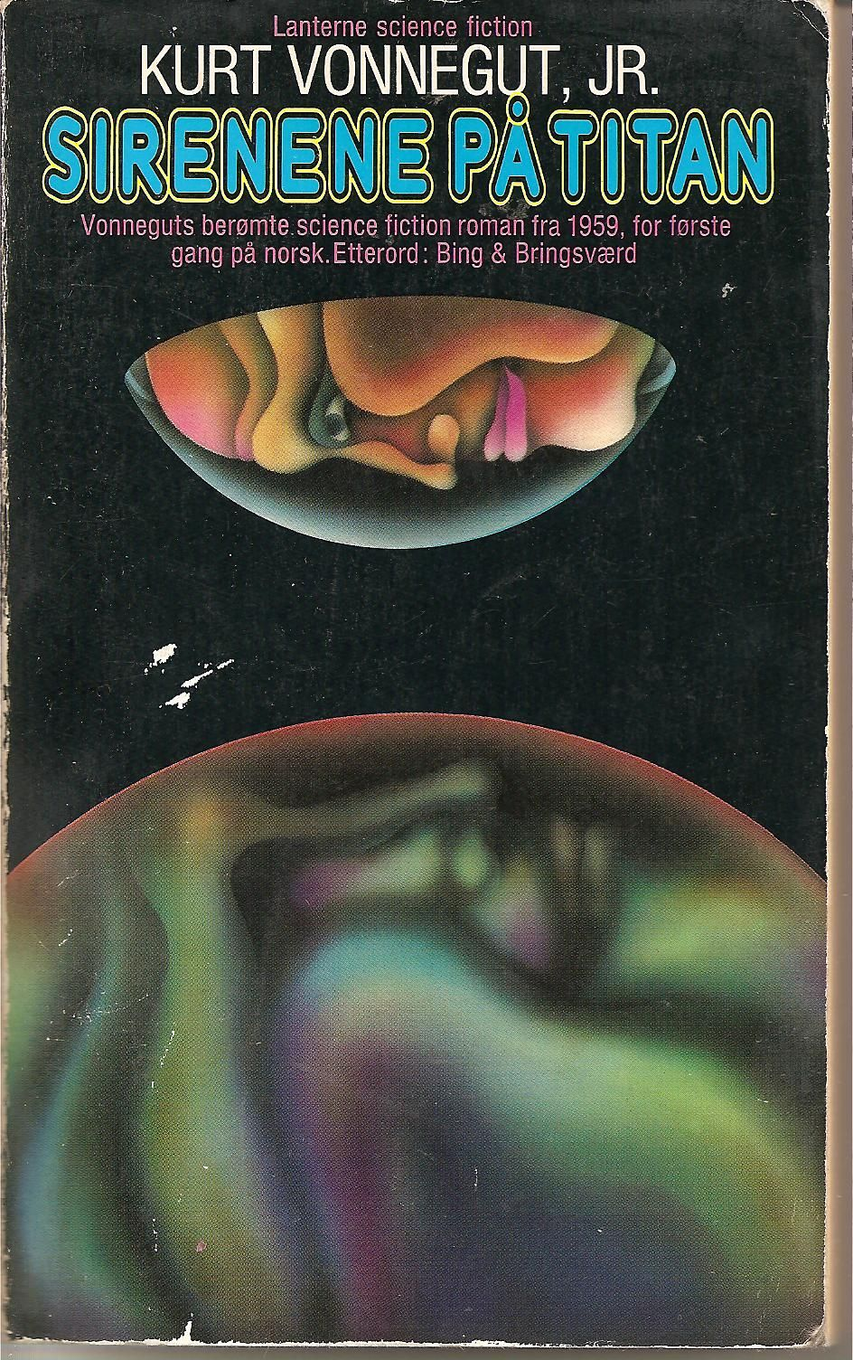Amazing Psychedelic Vintage Norwegian Sci-Fi Book Covers