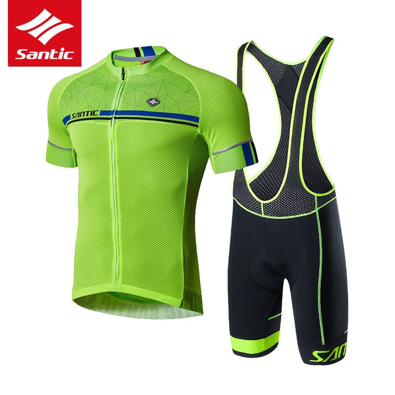 303a9acf8 Santic Cycling Jersey Set Men Pro Team MTB Road Bike Bicycle Jersey Tour De  France Sport. Visit. January 2019