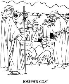 joseph and the coat of many colors coloring page google search - Coat Of Many Colors Book