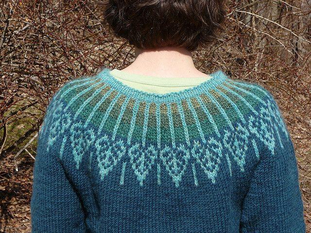 aspen yoke back by Meg Swanson. yarnbee, via Flickr check www ...