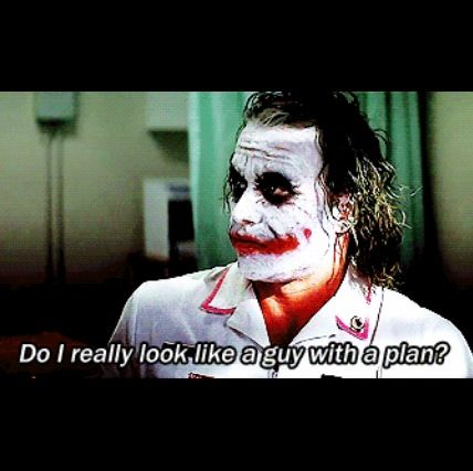 The Dark Knight Funny How To Plan