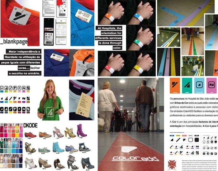 Conheça o ColorAdd: simbologia de cores para Daltônicos
