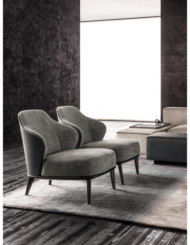Minotti Leslie | Van der Donk interieur | Tuolit-Chair | Pinterest ...