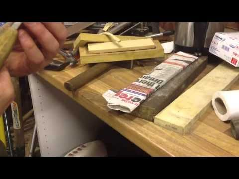 Quick knife sharpening tip - YouTube