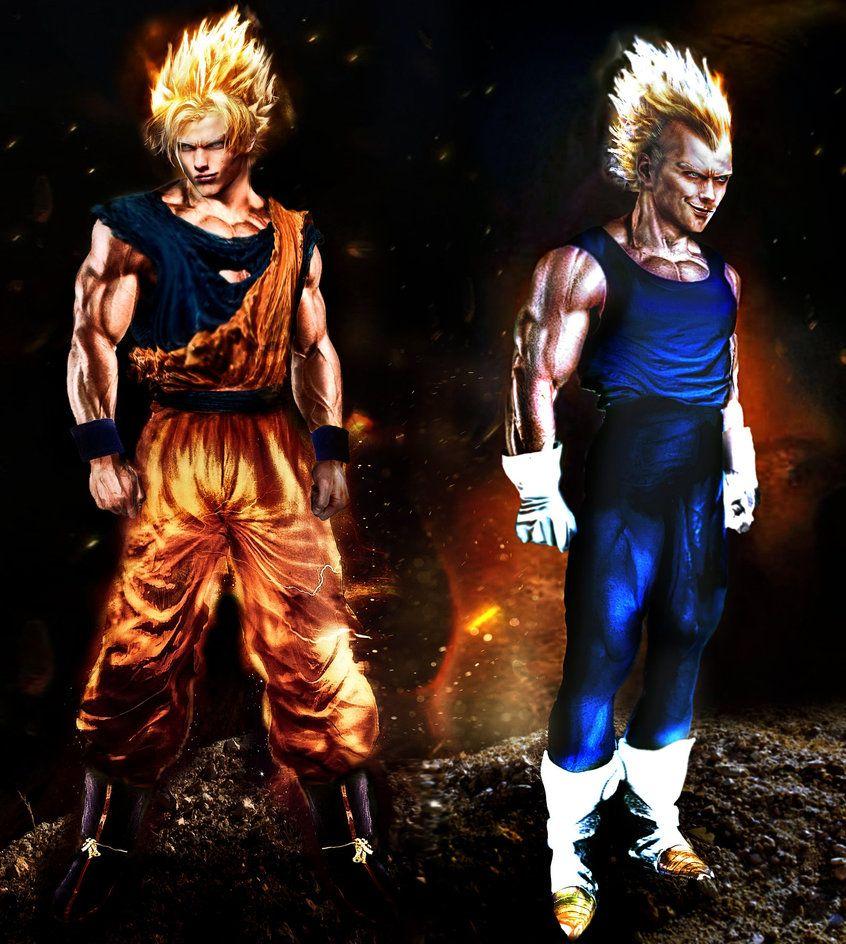 Goku And Vegeta Real Life By Shibuz4 Goku And Vegeta Goku Dragon Ball Super