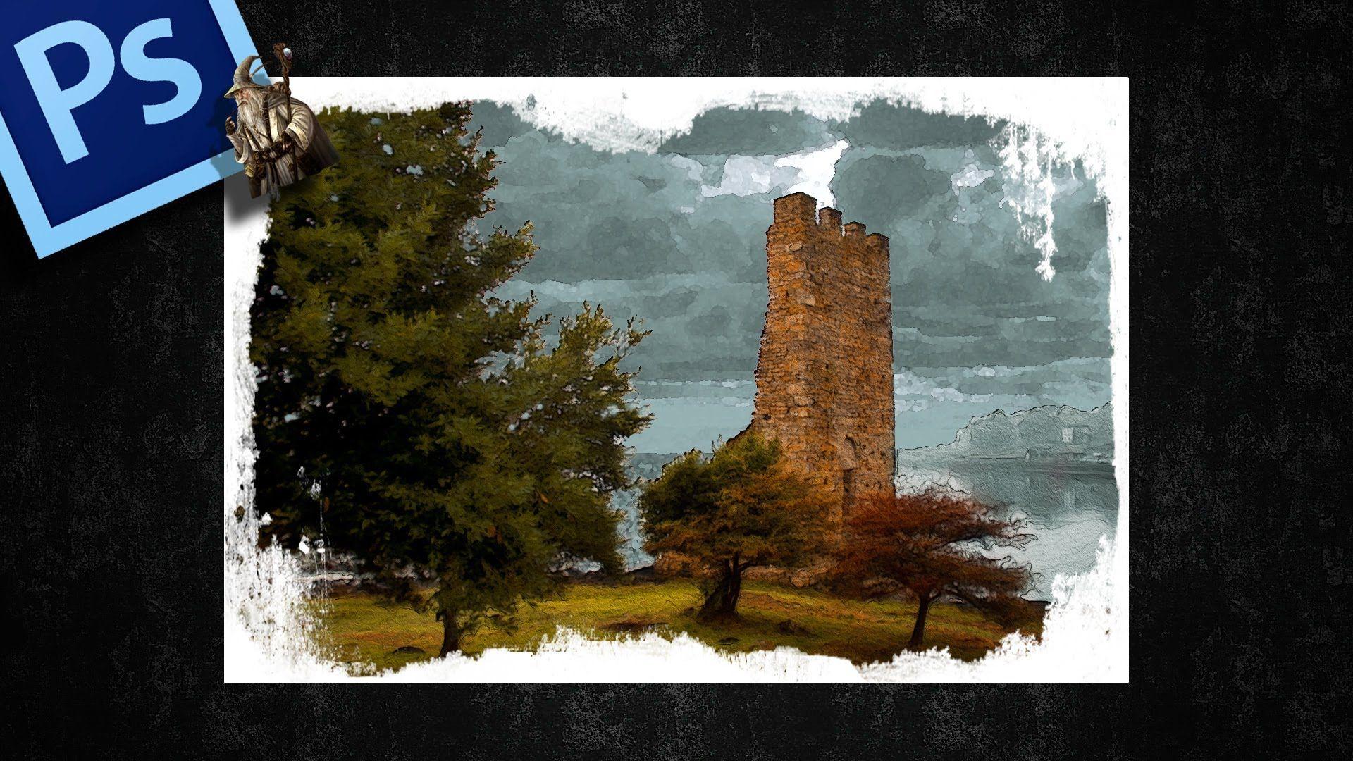 Crear marco artístico fácilmente con Photoshop by @Tripiyon ...
