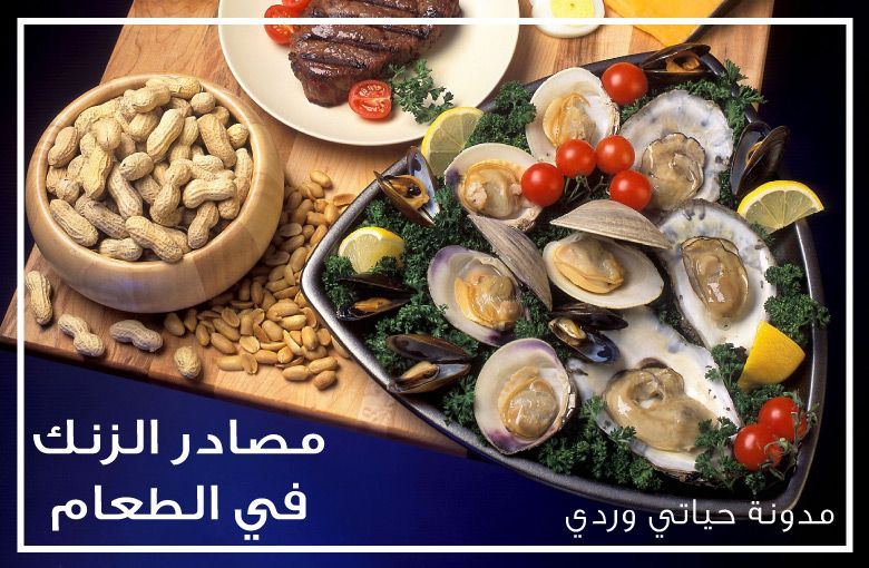 اين يوجد الزنك في الطعام لتفادي نقص الزنك لصحة افضل و شعر أجمل Zinc Foods Food Source Food
