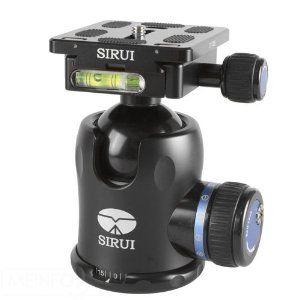 Sirui K 30x Aluminium Kugelkopf 44mm Inkl Wechselplatte Und Transportbeutel Stativ Kamera