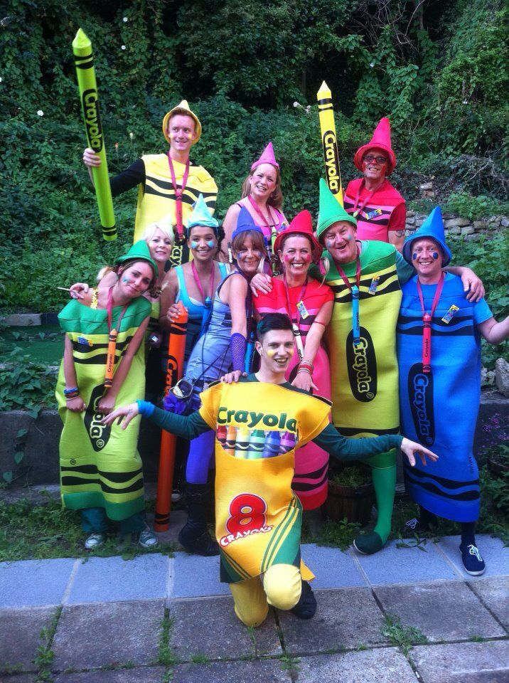Group Fancy Dress Pram Race Crayons Crayola Crayons Pram Race Fancy Dress Group Group Fancy Dress Fancy Dress Fancy