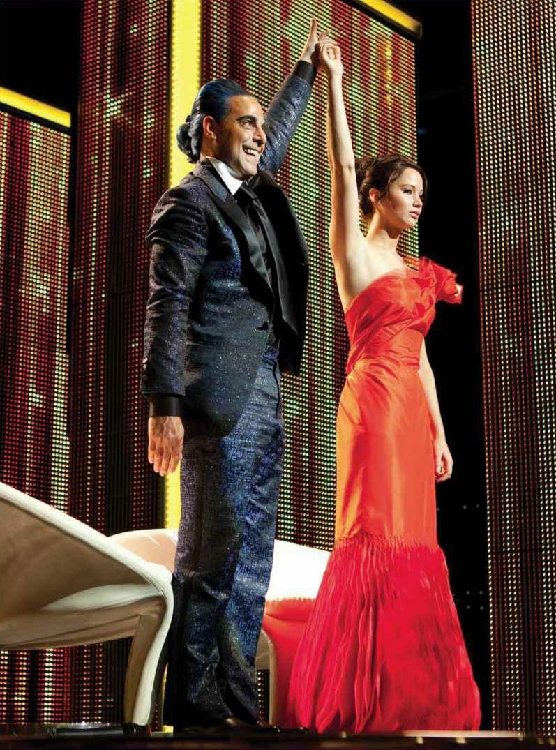 """The interview Fire Dress from the """"Hunger Games"""" 