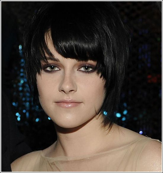 Kirsten Steward short rock hairstyle